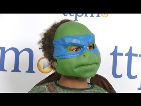 Teenage Mutant Ninja Turtles Movie Deluxe Leonardo Child Costume from Rubie's Costume Co.