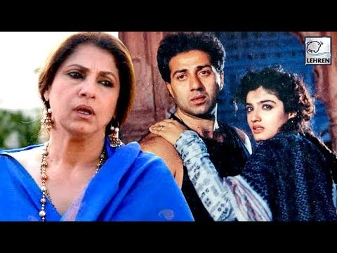 Why Dimple Kapadia And Raveena Tandon Fought For Sunny Deol?
