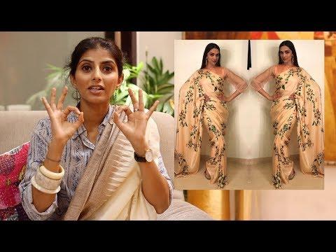 (हिंदी) : Top 10 Bollywood Saree Looks & Saree Styling Tips