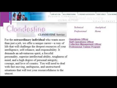 National Clandestine Service (NCS)