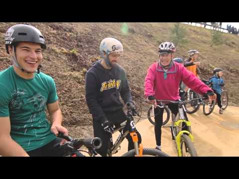 Velosolutions concrete Pump Track Pontresina