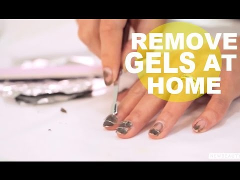 How to Remove Gel Nails at Home | NewBeauty Tips & Tutorials
