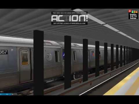 OpenBve: Operating an R68 E Train via Jamaica/Queens Blvd Express