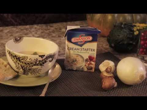 Kitchen Courses - Swanson Savory Cream of Mushroom Soup