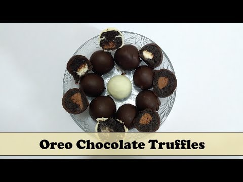 Oreo Chocolate Truffle Recipe in Hindi By Cooking with Smita