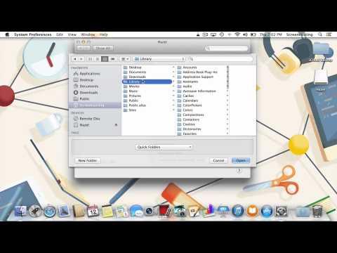 Backup iCloud with Hazel