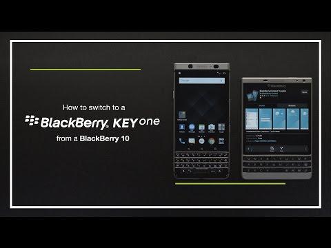 Switch from BlackBerry 10 to BlackBerry KEYone