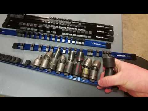 Socket rails Olsa tools organization