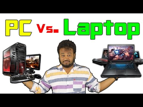 PC Vs. Laptop : Which One Is For You? [Hindi]