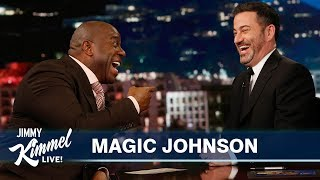 Magic Johnson On Kobe Bryant The Lakers Vacations With Jimmy Kimmel