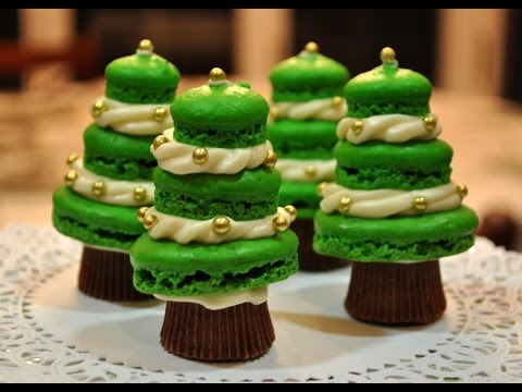 💖 How To Make Christmas French Macarons Recipe by Mommy Is A Chef Episode 53
