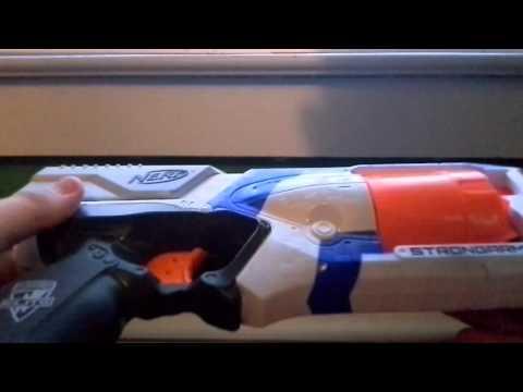 Nerf gun reveiw: N-Strike Elite Strongarm