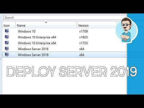 SCCM 1810 | Deploy Windows Server 2019!