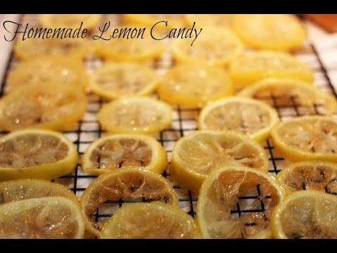 Lemon Candy (Candied Lemons for Morning Sickness)