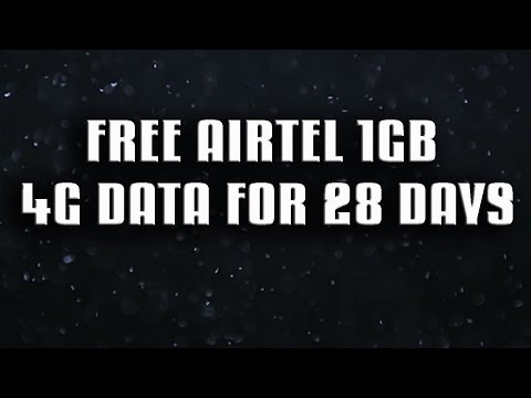 Airtel 4G Offer : Get 1 GB Free Data Instantly!
