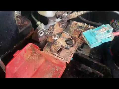 Replace a battery terminal for a 2015 ford explorer