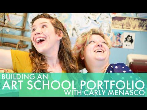 How to Make a Portfolio for Art School with Carly Menasco