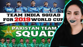 World Cup 2019  Indian & Pakistani Cricket Team Squad For ICC