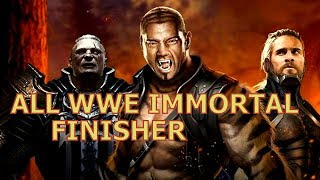 All WWE IMMORTAL FINISHER IN HD. ANDROID GAME WWE GAME. INTERNAL SOUND ANDROID RECORDING
