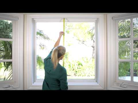 How To Measure your Window for Cellular Shades