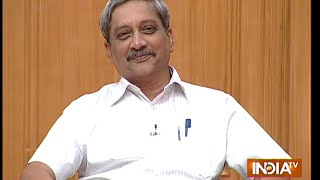 Defence Minister Manohar Parrikar in Aap Ki Adalat ( Full Episode )