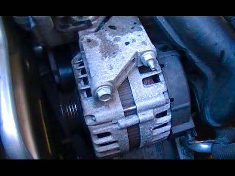 Replace a 2008 Chevrolet Malibu alternator with a 2.2L or 2.4L Ecotec engine