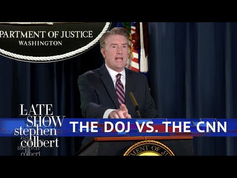 The Justice Department Can't Stand CNN