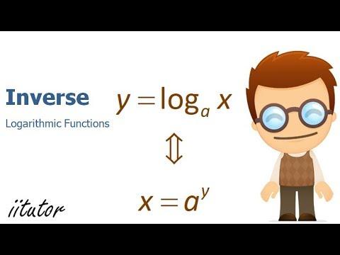 √ Inverse of Logarithmic Functions   iitutor