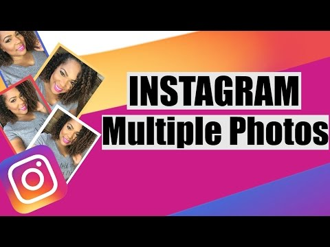 Instagram Multiple Photos - how to upload multiple photos to instagram new feature