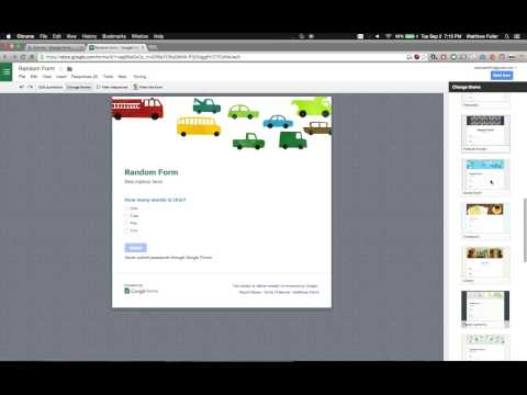 Google Forms - How to Enable New Cleaner Customizable Themes