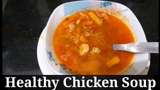 Homemade Healthy Chicken Soup