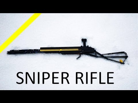 LEGO SNIPER RIFLE!!!!!! (working,mechanism,shooting))