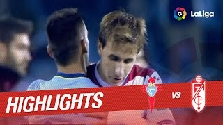 Resumen de Celta de Vigo vs Granada CF (3-1)