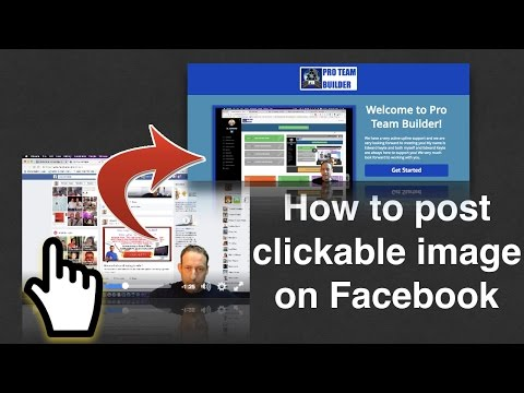 How to post clickable images on Facebook - Facebook marketing tips 2016