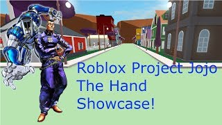 Star Platinum Showcase - Roblox Project Jojo