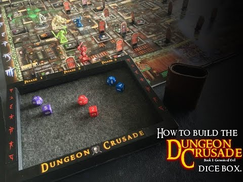How to build the Dungeon Crusade dice box