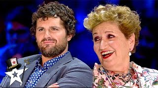 Magician HYPNOTISES Judge on Stage on Italy's Got Talent | Magicians Got Talent