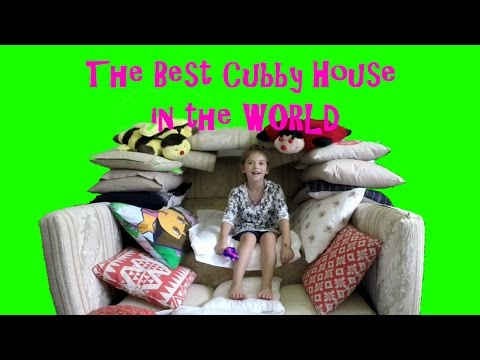 The Best Pillow Cubby House EVER!!