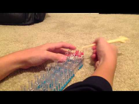 How to make a Rainbow Loom Starburst Ring