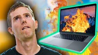 2018 Macbook ALREADY Overheating?!