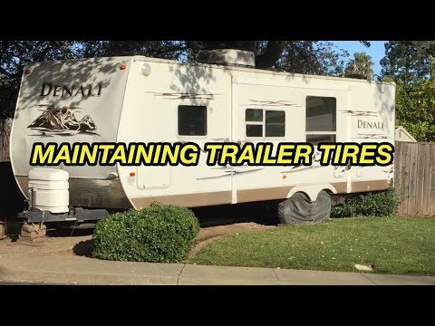 How to Maintain Trailer Tires For Longer Life