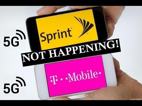 T-Mobile And Sprint Merger - It's Not Happening (At The Moment) 2018!