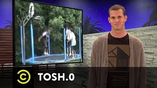 Tosh.0 - Video Breakdown - Trampoline Dunk