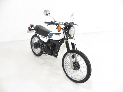 A Superb UK Yamaha Enduro DT175MX with 3,888 Miles and Matching Numbers. SOLD