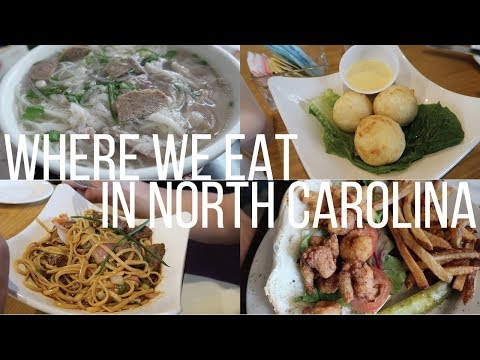 Where We Eat in North Carolina (Goldsboro, Raleigh, & Fayetteville)