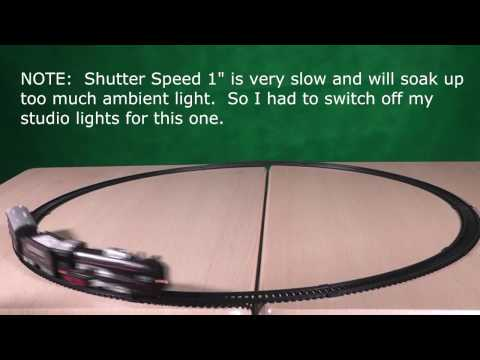 Learning to Freeze or Blur Subjects with  Shutter Speed