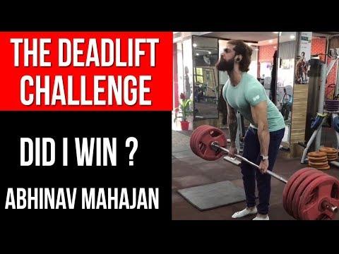 THE DEADLIFT CHALLENGE - 100 Kg DEADLIFT (DID I WIN ?)