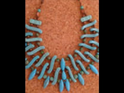 Katie Hacker Multi-Strand Statement Necklace on Beads, Baubles & Jewels (1512-5)