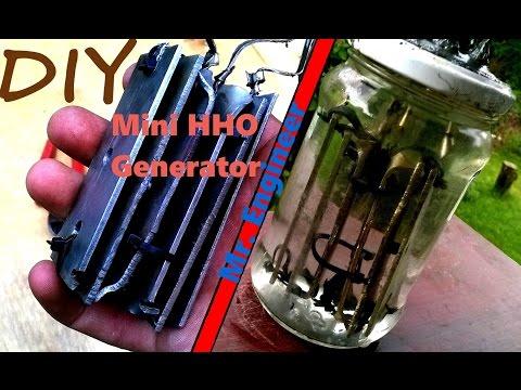 How To Make: Mini HHO Generator v1.0 Tutorial