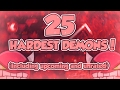 Geometry Dash   Top 25 Hardest Demons (Including Unrated and Upcoming)